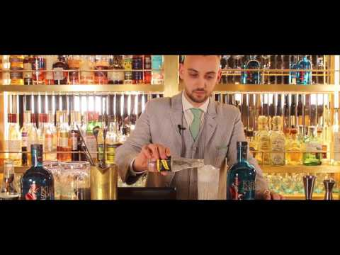 The King of Soho Gin:  Gin & Tonic cocktail