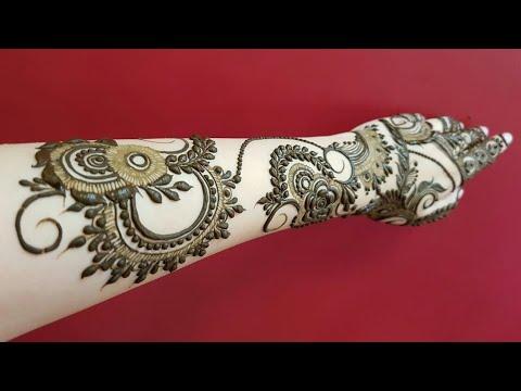 Dubai Henna Design 16 Heenavahid Youtube