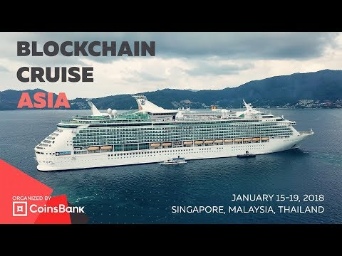 Blockchain Asia Cruise organized by CoinsBank