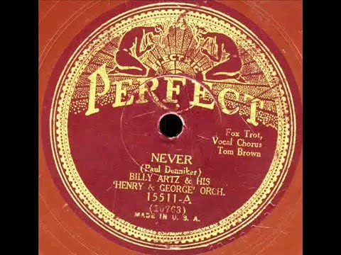 Never- Billy Artz and his Henry+George Orchestra