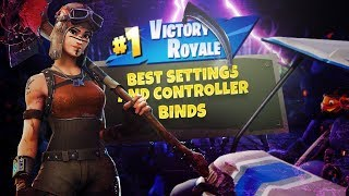 The Best Settings/Controller Binds For Console - Fortnite