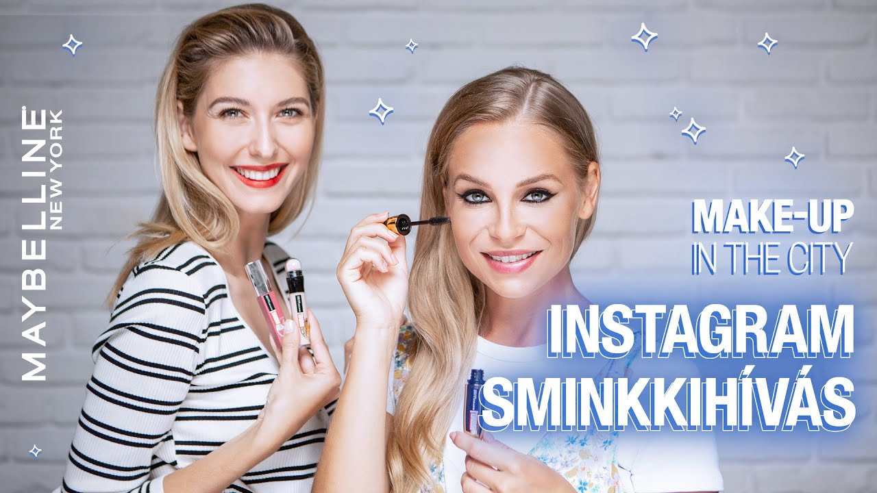 Instagram sminkkihívás | Maybelline Make-up in the City S04 E08