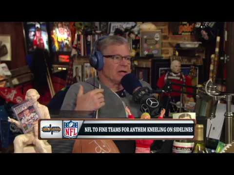 Dan Patrick Reacts to the NFL's New National Anthem Policy & Protests | 5/24/18