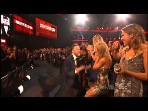 Justin Timberlake And Taylor Swift - AMAs 2013