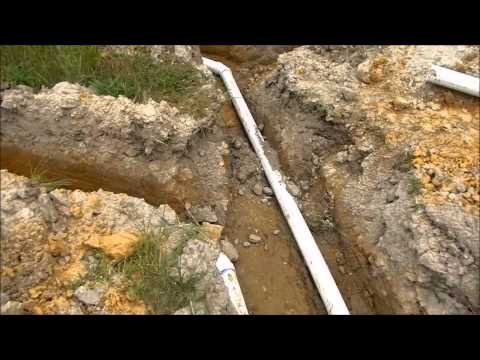 Septic tank/ line install