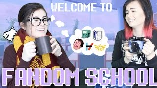 Repeat youtube video WELCOME TO FANDOM SCHOOL