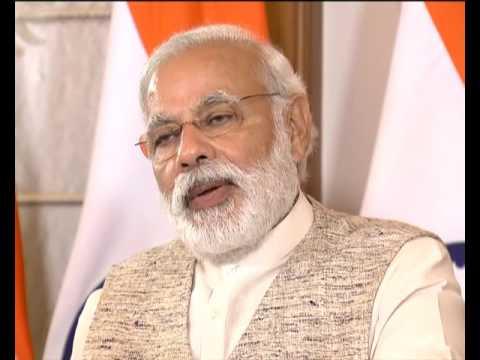 PM Narendra Modi at the Prajapita  Brahma kumaris Ishwariya vishwa vidyalaya via video conferencing