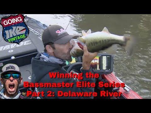 Bassmaster Elite Series Delaware River PART 2