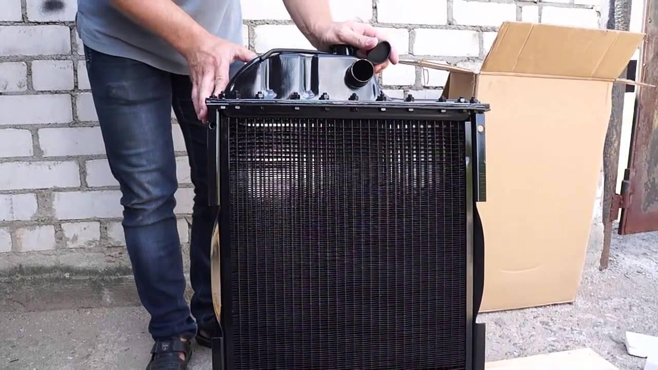Обзор радиатора МТЗ-82 - YouTube