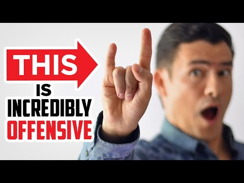 10 OBSCENE Hand Gestures (YOU Might Use On Accident!)