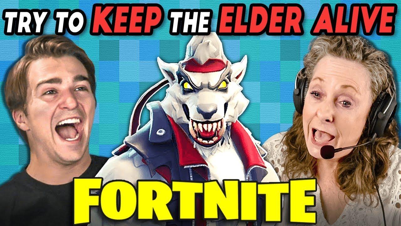 fortnite-keep-the-elder-alive-challenge-react-gaming