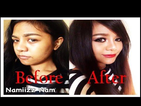 How to แต่งหน้าสาวผิวคล้ำให้สวยแซ่บ Inspiration เมญ่า By Namiizz Nam