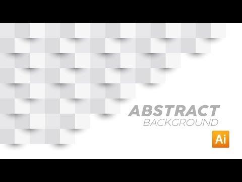Cara Membuat Background Abstrak 3D   Adobe Illustrator Tutorial thumbnail