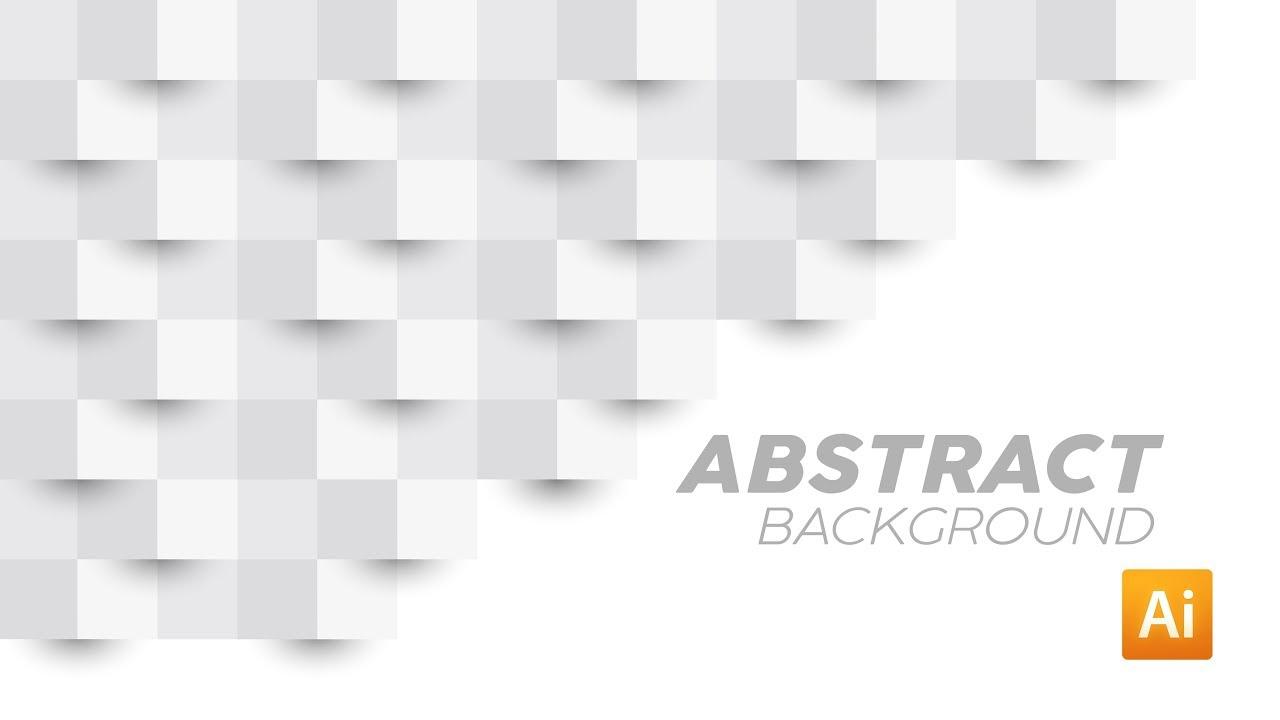 Cara Membuat Background Abstrak 3D   Adobe Illustrator Tutorial - YouTube