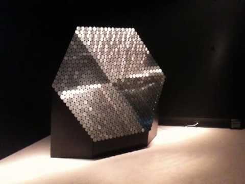 Daniel Rozin Brushed Metal Mirror