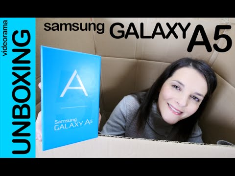Samsung Galaxy A5 unboxing preview en español