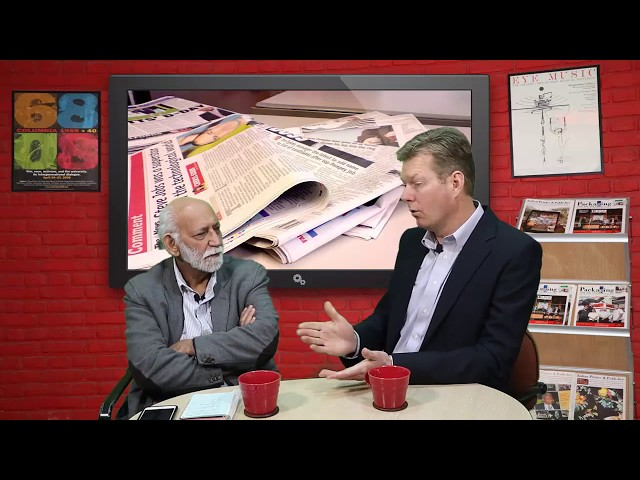Editor of Indian Printer & Publisher speaks to Eric Buskirk of Verican about newspaper viability