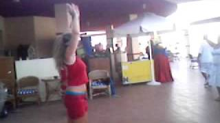 belly dance lessons by animation team @ sharm holiday resort 9/2007 ( sharm el-sheikh )