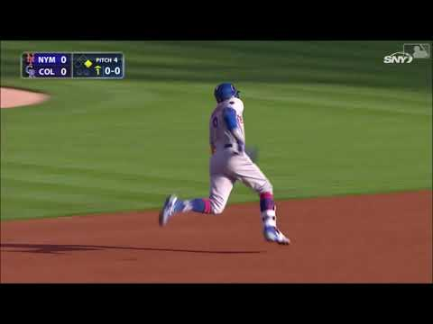 The Happiest Man In Baseball (Brandon Nimmo) 2018 Mets Highlights