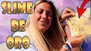 CREO SLIME DE ORO!! OMG!! INCREIBLE!!