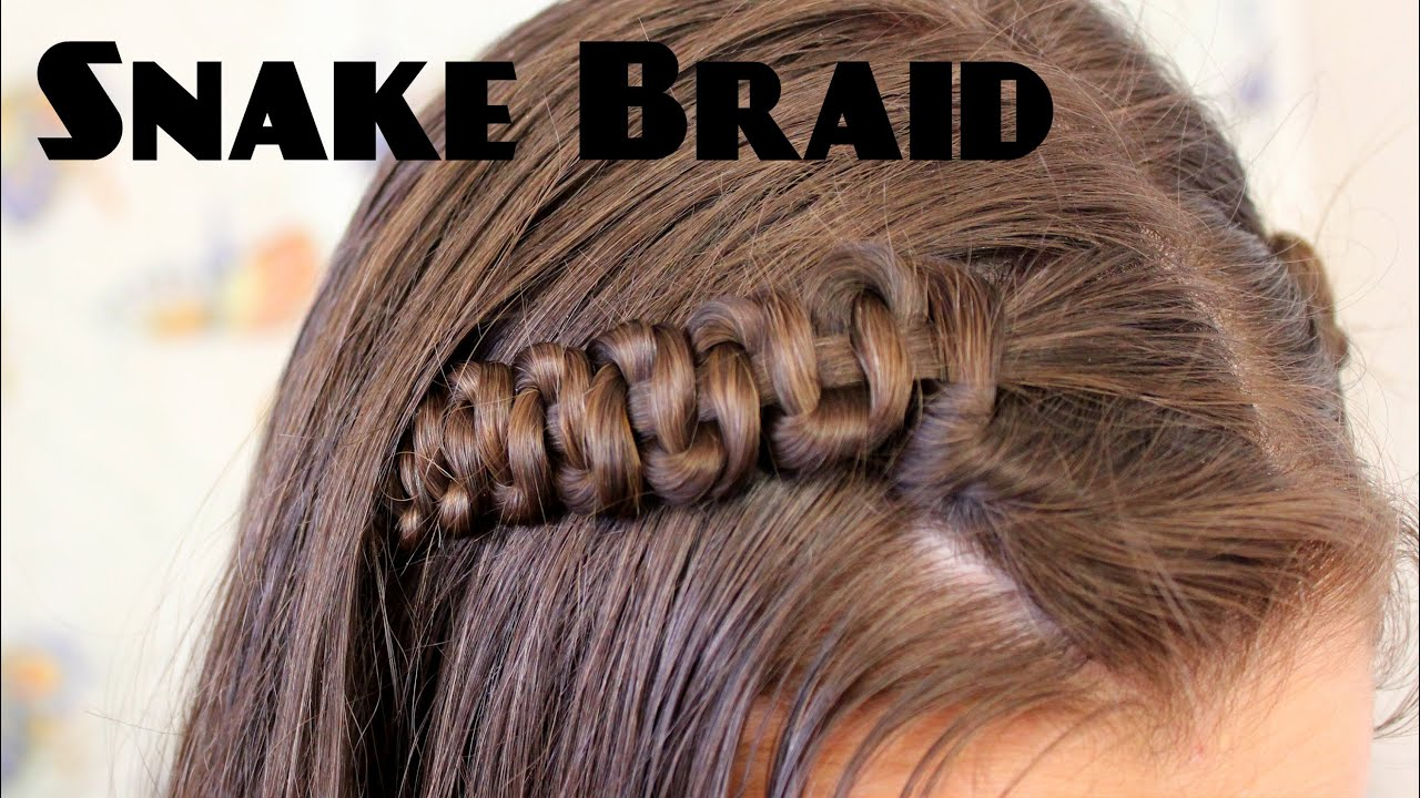 Snake Braid Tutorial Youtube