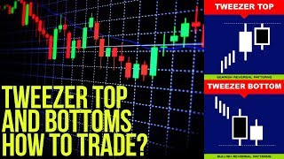 Tweezer Tops and Bottoms Candlestick Chart Pattern 🥢
