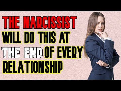 What Narcissists Do When A Relationship Ends #WalkingAway #EndingNarcissisticRelationships