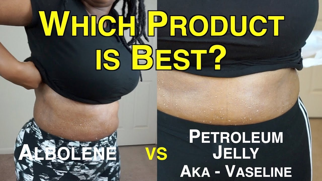 Albolene vs. Vaseline for Weight Loss - YouTube