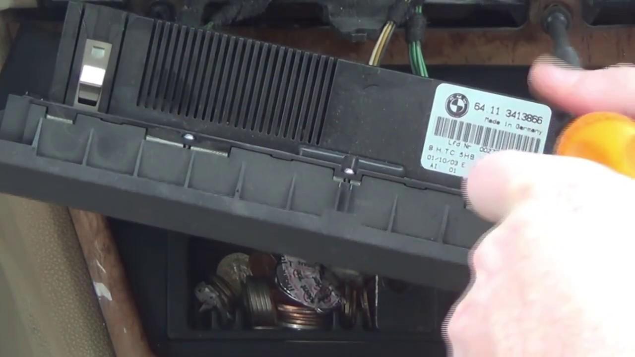 installing a bmw x3 aux wire kit [ 1280 x 720 Pixel ]