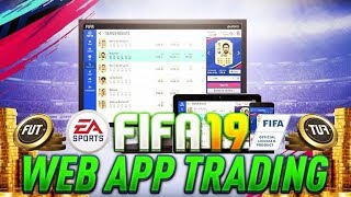 DOUBLE YOUR COINS FAST!!! 🤑⚡- THE BEST FIFA 19 WEB APP TRADING METHOD (EASY)! FIFA 19 ULTIMATE TEAM