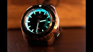 Zelos Hammerhead Bronze: The latest incarnation of this chunky dive watch.