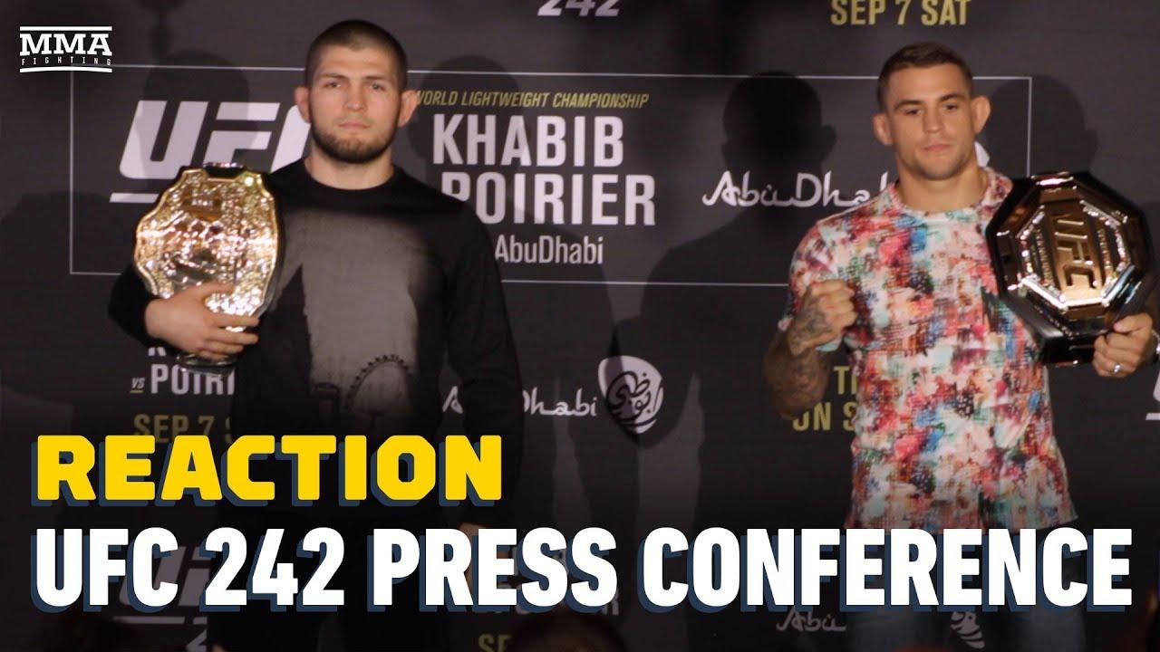 UFC 242: Нурмагомедов vs Порье — Главные моменты пресс-конференции