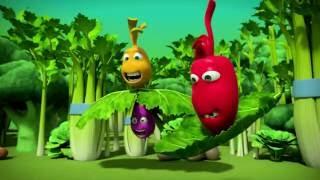 Прикольный мультик «Овощная вечеринка» - Листья салата (98 серия)