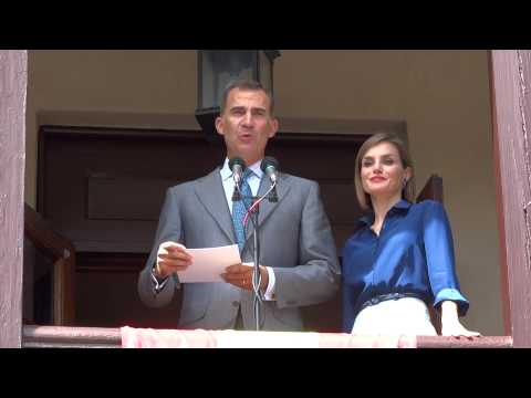 King Felipe Vl and Queen Letizia of Spain visit St. Augustine