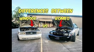 (Crown Victoria)The Difference Between Romeo and Windsor Built Engines