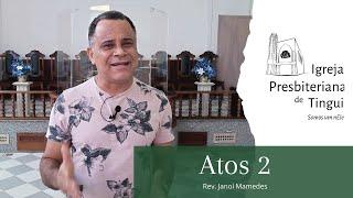 Atos 2 - Minuto da Palavra - IPB Tingui 14/07/2020
