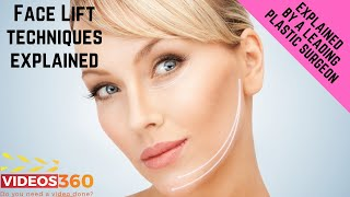Now Trending - Different techniques of facelift explained by Dr. Edmund Kwan