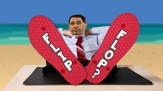 "Will the ""Flip-Flop"" Rap Stick to Scott Walker?"