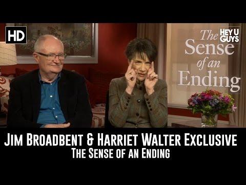 Jim Broadbent & Harriet Walter Exclusive - The Sense of an Ending