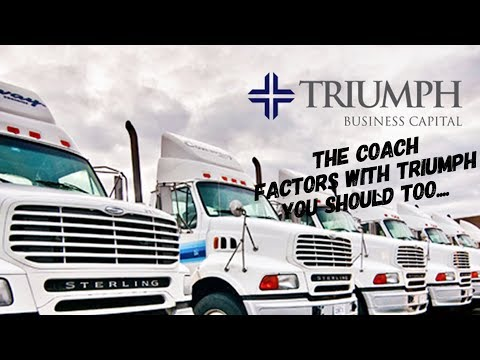 Triumph Business Capital Invoice Factoring for the Trucking Industry