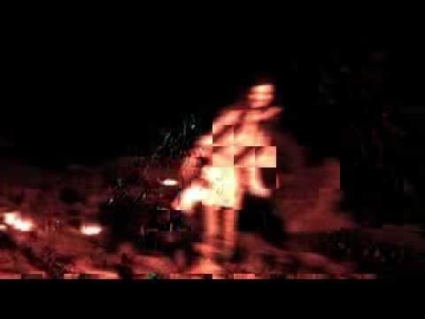 GRUFF RHYS+GWYNETH GLYN Performance in Ogof -Greenman2000+6