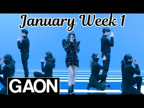[TOP 100] Gaon Kpop Chart 2019 [January Week 1]