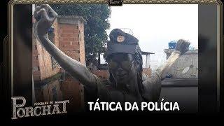 Estátua de Michael Jackson ajuda a PM e entra na luta contra o crime organizado