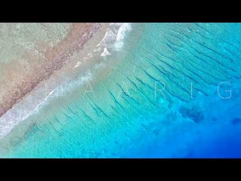 Breathtaking aerial view of Thulusdhoo, Maldives