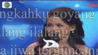 Putri D'Academy 4 - Ilalang vs Lesti D'Academy 1 - Ilalang + Lirik (OKE BANGET)