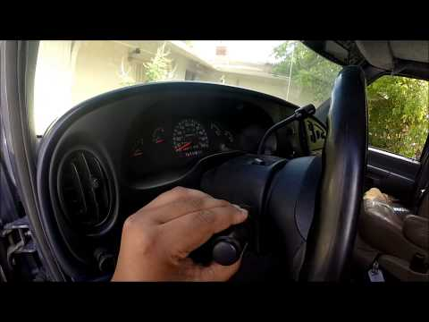 How To Install Replace Turn Signal Switch 2004 008 Ford