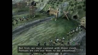 Odama GameCube Gameplay - Get across the river