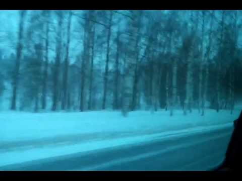 On the way to office in Finland 03 Feb 2012 - Part 1