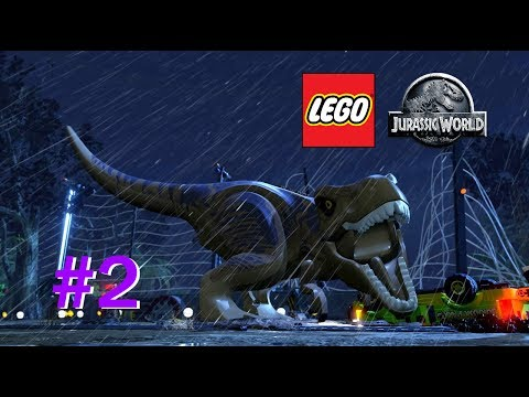 LEGO Jurassic World #2 T.Rex Ausbruch!! [60FPS/FullHD] | Marcel