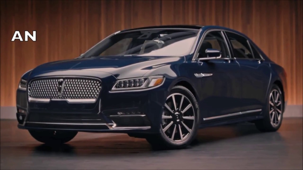 2019 Lincoln Continental First Review Youtube